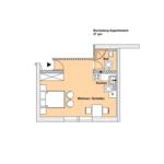 Dachgeschoss Beige Bocksberg