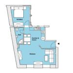 Steinberg-Appartement Erdgeschoss