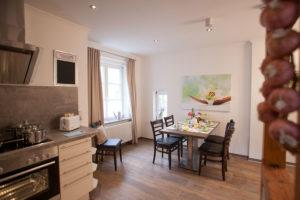 Rammelsberg Appartements Küche 1