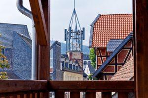 HISTORISCHER WEBERTURM Aussicht Balkon
